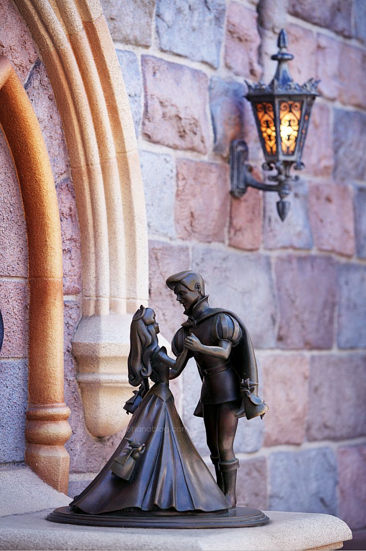 Disneyland // Sleeping Beauty Castle // Sleeping Beauty and Prince
