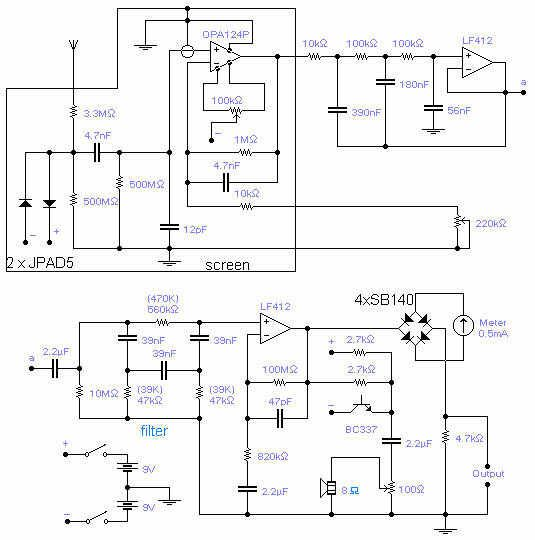 The Free Information Society - ULF Receiver Electronic Circuit