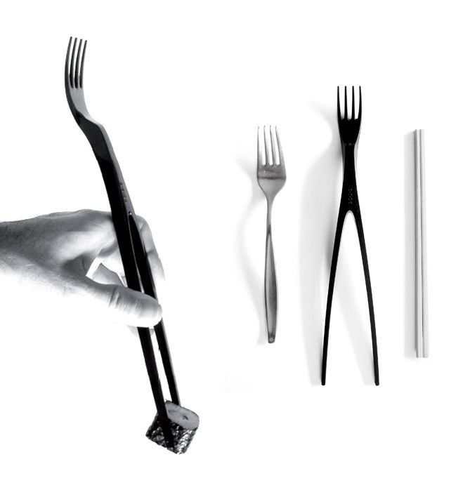 B-Side - Cutlery, design by Alessandro Busana and self-produced (2006)