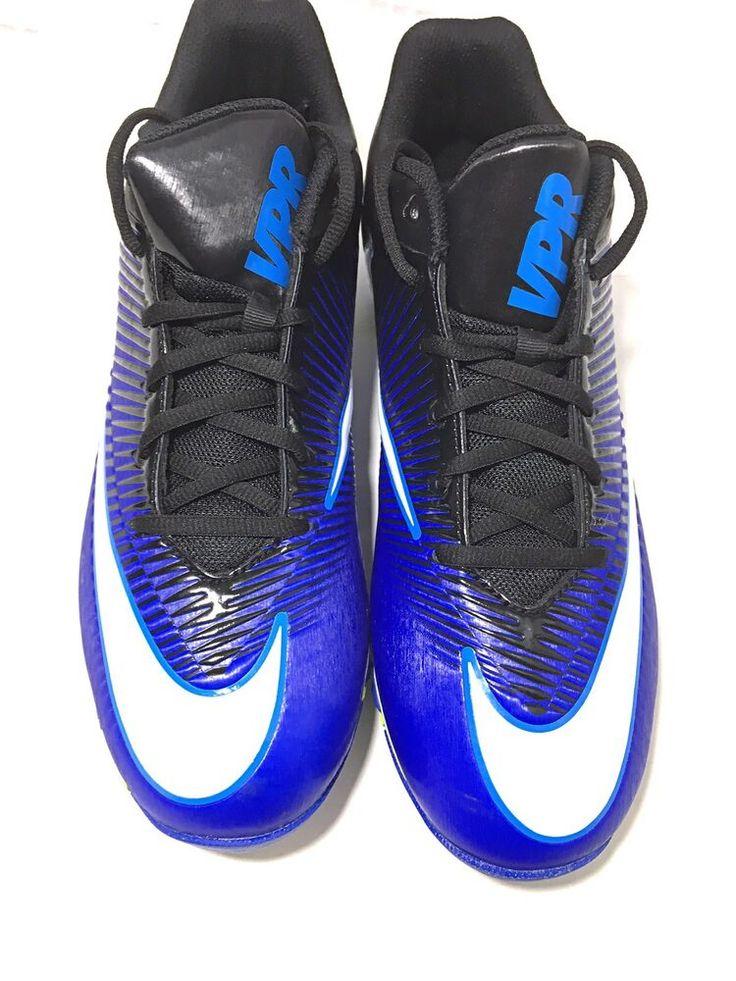Nike vpr fastflex mens football cleats sz 115 bluewhite