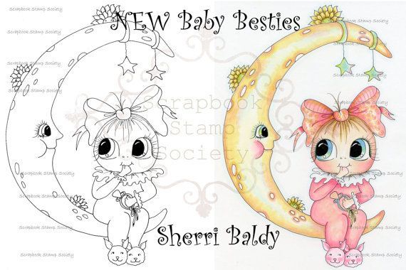 Faça o Download Digital Digi Stamps Big Eye Big Head Bonecos Digi Besties Lua Lite Matilda IMG747 por Sherri Baldy