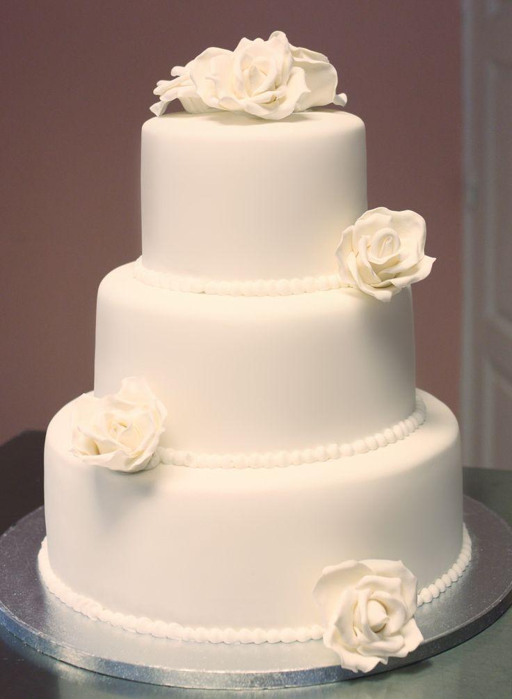 Tarta de Boda Rosas / Rose wedding cake