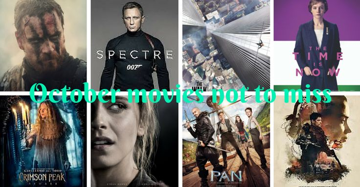 October movies not to miss in the UK