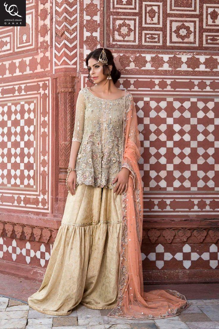 Ayesha and Usman Qamar Bridal collection 2016
