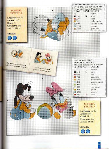 Baby Donald, Goofy & Daisy