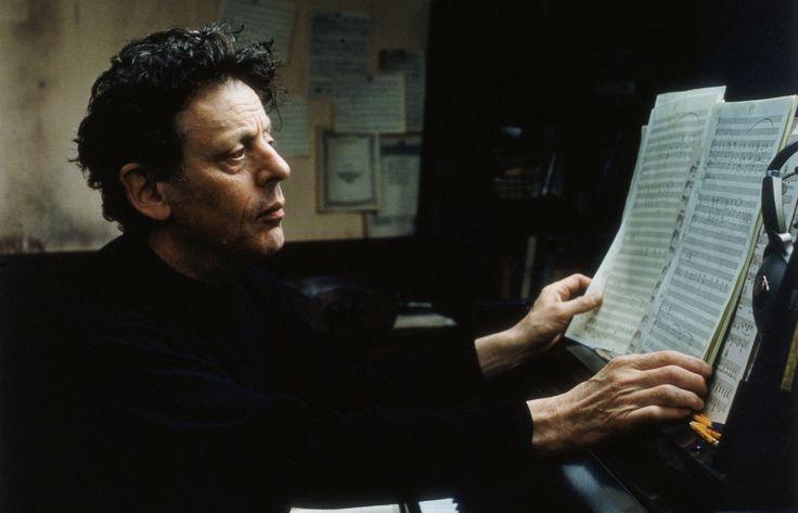 Composer Philip Glass by Annie Leibovitz