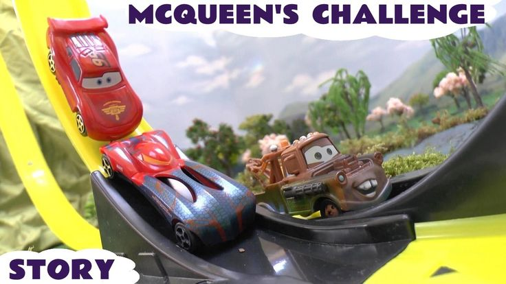 Cars Neon Racers Play Doh Frozen Olaf Peppa Pig Lightning McQueen Races ... It's race time ! Spider-Man challenges Lightning McQueen to a series of races. Who will win? #disney #cars #race #playdoh #spiderman #mater #peppapig #olaf #frozen #hotwheels