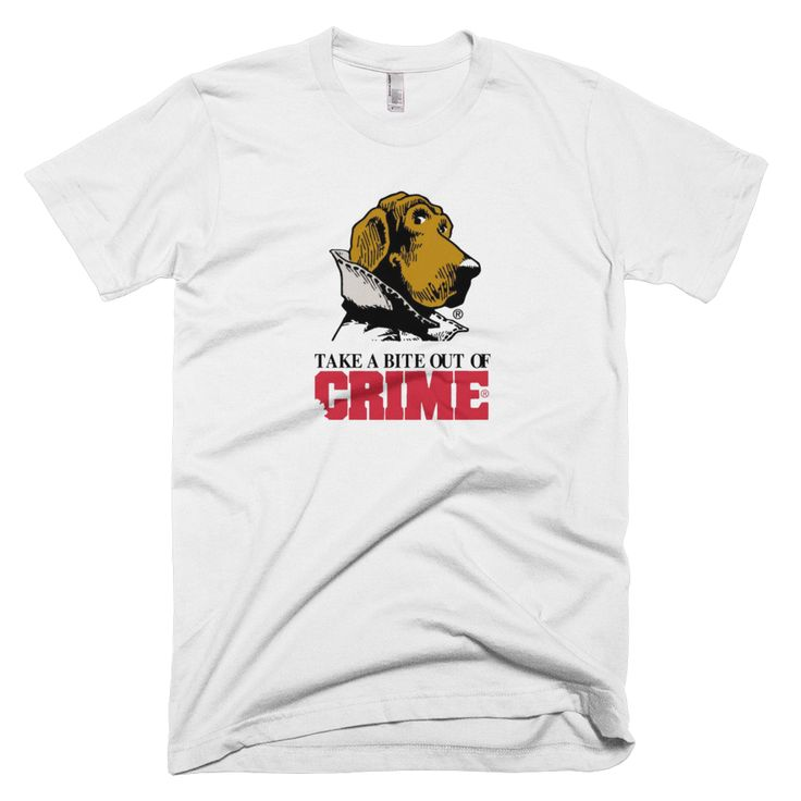 Scruff McGruff Take A Bite Out Of Crime TShirt Shirts