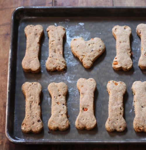 Learn How To Make A Carrot and Banana Natural Dog Treat  http://www.homesteadingfreedom.com/how-to-make-carrot-and-banana-natural-dog-treat/
