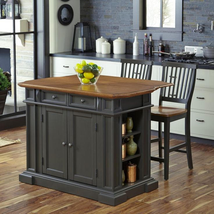 Island At Standard Counter Height Eating Section Dropped: 1000+ Ideas About Americana Kitchen On Pinterest