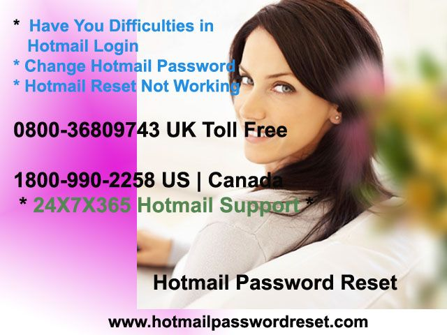 You are created weak password for their Hotmail account and you want to make strong password then get instant Hotmail Login Help by Hotmail Password Reset for resolve password related issues.http://www.hotmailpasswordreset.com/hotmail-problems.html
