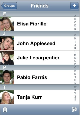 Cyntact - Show thumbnails in Contact - ios5