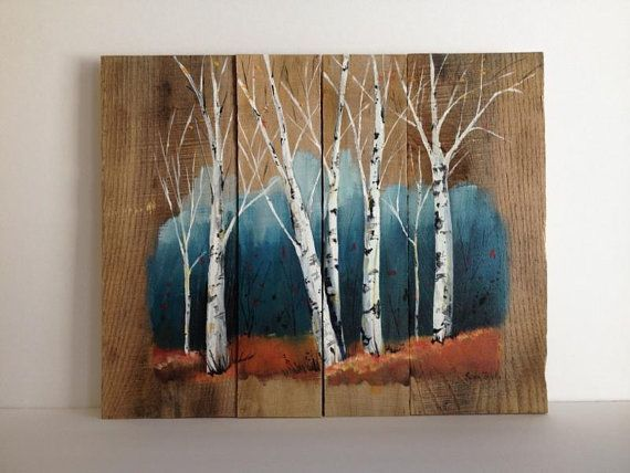 Pallet Painting Distressed Wood Art Pallet Art от PalletPalz