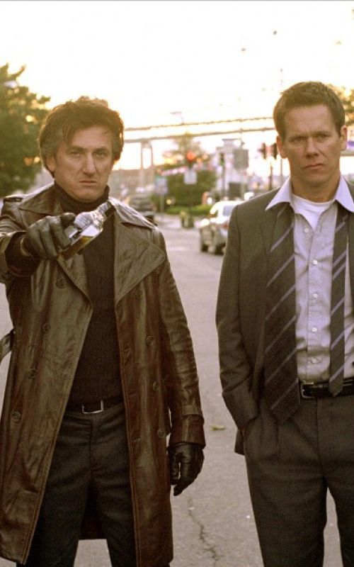 """Maybe someday you'll forget how to be human and then it's ok"" mystic river a movie to watch."