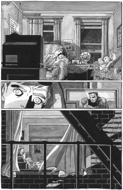 Daredevil Yellow #1, page 15 by Tim Sale