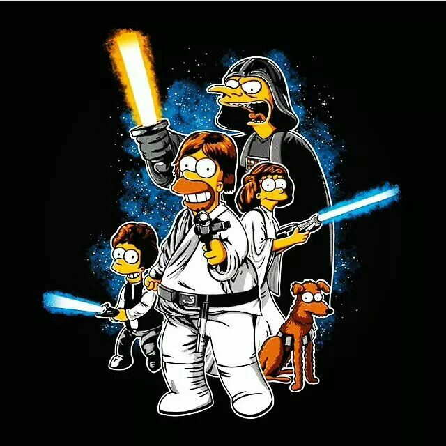 Star Wars Simpsonized