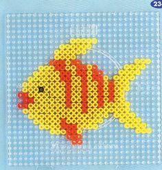 sea animals perler | Fish hama beads - DOMINELLE DECOUPAGE - Picasa-Webalben More