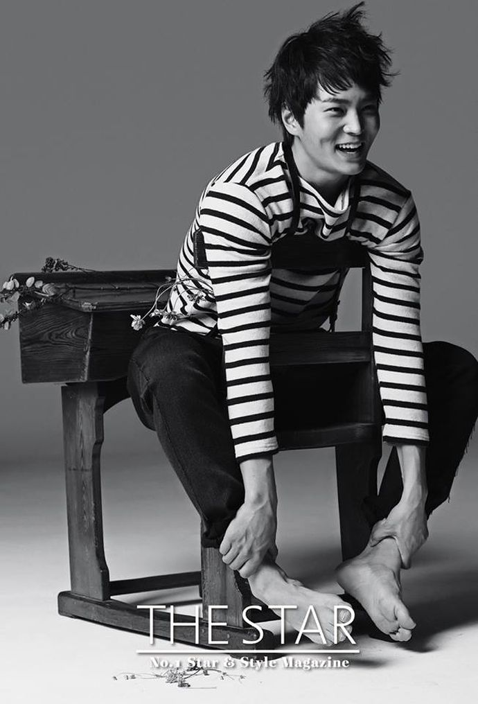 Joo Won Covers The Star's November 2013 Issue   Couch Kimchi