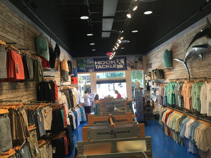 Hook & Tackle and Hy's Toggery in Panama City beach, FL