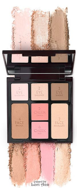Trending - Winter 2016 - Charlotte Tilbury's Instant Look In A Palette