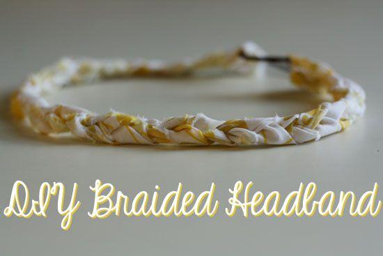 DIY Braided Headband by Her New Leaf