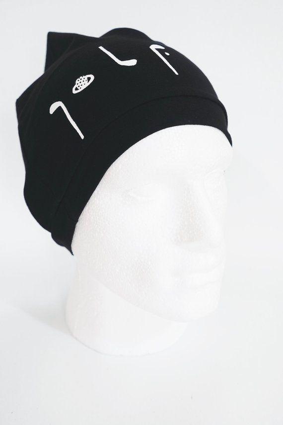 Golf Gift, Valentines Day Gift for Him Golf, Dad Gift, Dad Hat, Men's Beanie Hat, Golf Lover Gift, Black Knit Jersey Hat, Boyfriend Gift