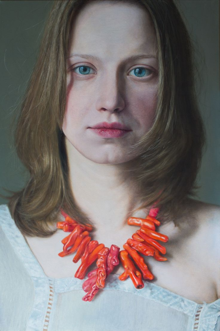 Masterpieces of painting in the style of hyperrealism