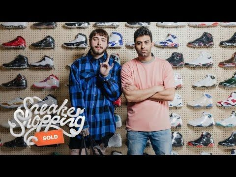 Post Malone Goes Sneaker Shopping With Complex Feels 22 Sneakers...  Post Malone goes Sneaker Shopping with Joe La Puma at Flight Club in Los Angeles, and buys Air Jordans for his dad while talking about his friendship with Justin Bieber. Subscribe to Complex on YouTube:...