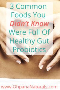 Check Out These 3 Super Tasty Common Foods That Pack A Powerful Dose Of Healthy Probiotics With Every Bite.