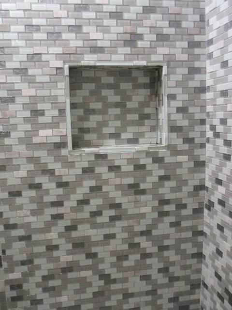 Mini Brick Shower Niche Google Search Ghent Bathroom Ideas Pinterest Shower Niche And Bricks