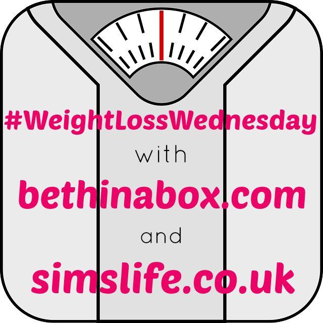 Weight Loss Wednesday Linky - Week 33 #WeightLossWednesday - Sim's Life