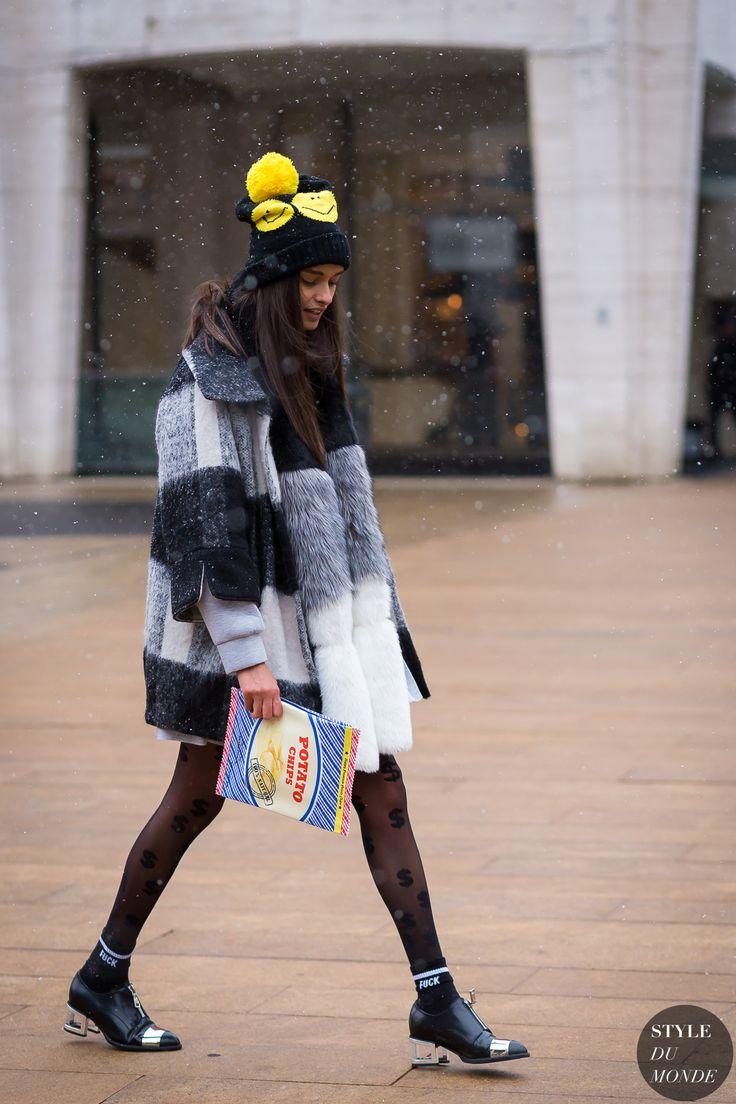 Gizele Oliveira Street Style Street Fashion Streetsnaps by STYLEDUMONDE Street…