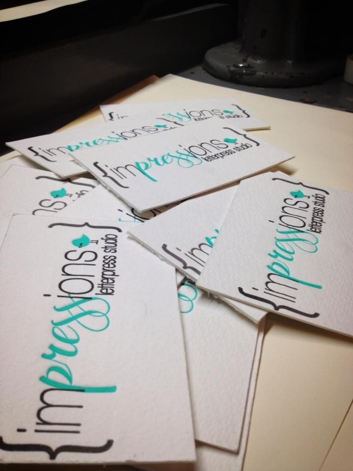 64 best Letterpress Business Cards images on Pinterest | Etchings ...