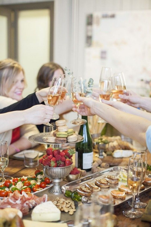 Champagne Bridal Shower Theme | buds will love getting their drink on at your champagne tasting shower ...