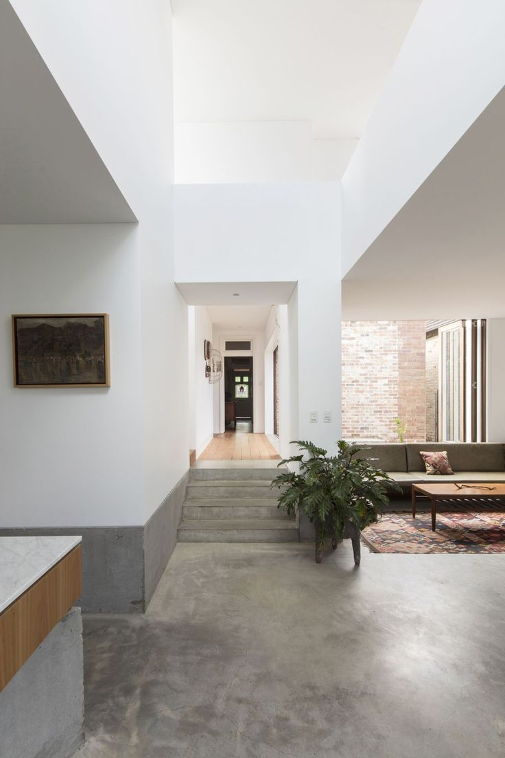 482 best interior images on pinterest modern interiors panovscott has overhauled a cottage in sydney adding a stacked extension onto the rear of the building with large picture windows that overlook the garden