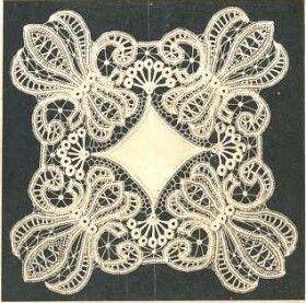 Vintage romanian lace