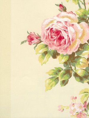 """Prints like this vintage inspired laura ashley """"York"""" remind me of my gran, her love for painting and the lovely garden."""
