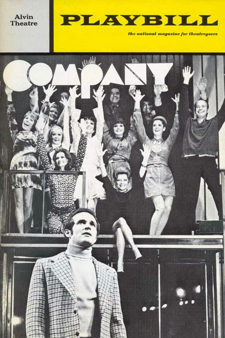 Sondheim's Company. One of the most beautiful shows of all time. It only becomes more relevant with age.