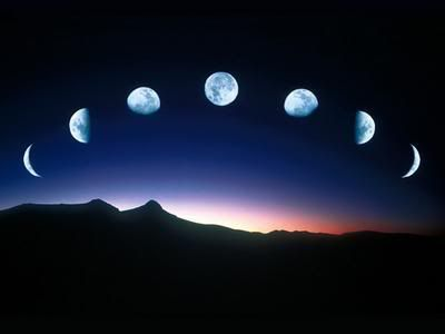 image of the moon cycle   #moon