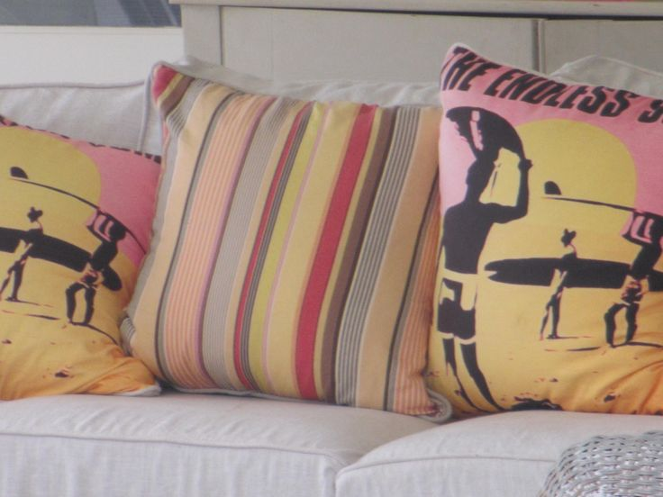 Scatter cushions change a whole mood...GOC Styling