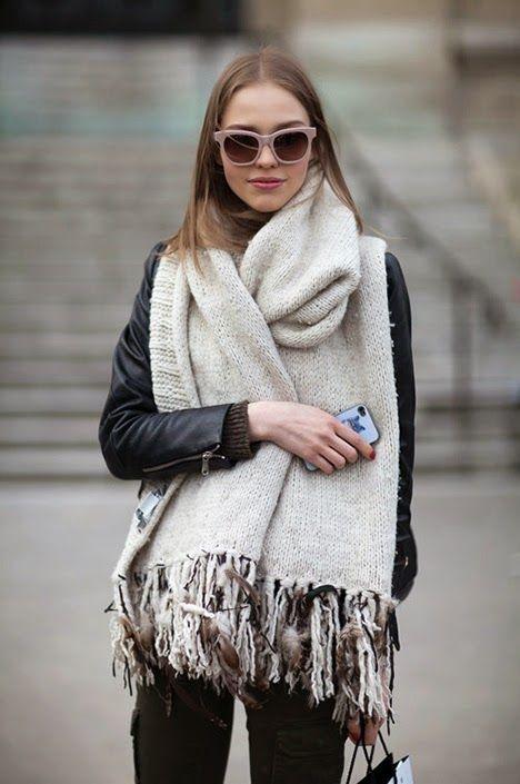 Bufanda manta para el frío