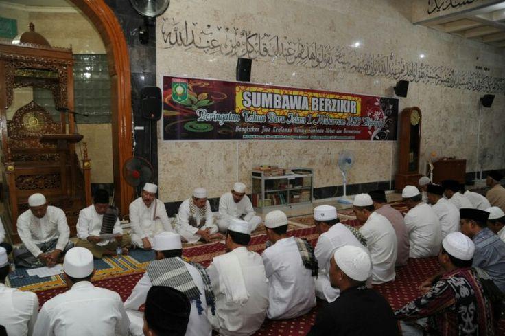 Pemkab Sumbawa Gelar zikir Sambut Tahun Baru Islam 1439 Hijriyah