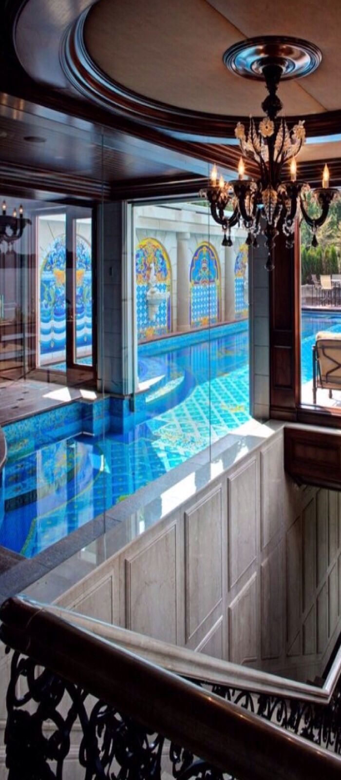 76 best 'home-indoor pools & spa' images on pinterest | indoor