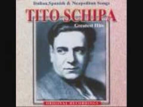 Tito Schipa - Una Furtiva Lagrima - YouTube