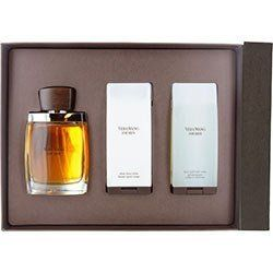 VERA WANG by Vera Wang Cologne Gift Set for Men (EDT SPRAY 3.4 OZ & AFTERSHAVE BALM 3.4 OZ & HAIR AN by Vera Wang. $69.25. Fragrance Notes: nutmeg, anise, green mandarin leaf, tobacco, leather, and sandalwood.. Recommended Use: elegant. Design House: Vera Wang. 100% Authentic VERA WANG by Vera Wang Cologne Gift Set for Men (EDT SPRAY 3.4 OZ & AFTERSHAVE BALM 3.4 OZ & HAIR AND BODY WASH 3.4 OZ). Manufactured by the design house of Vera Wang. VERA WANG for MEN possesses a blend...