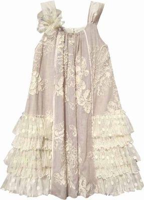 Isobella and chloe dresses white polish