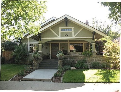229 best images about homes craftsman bungalows on for American cottage style homes