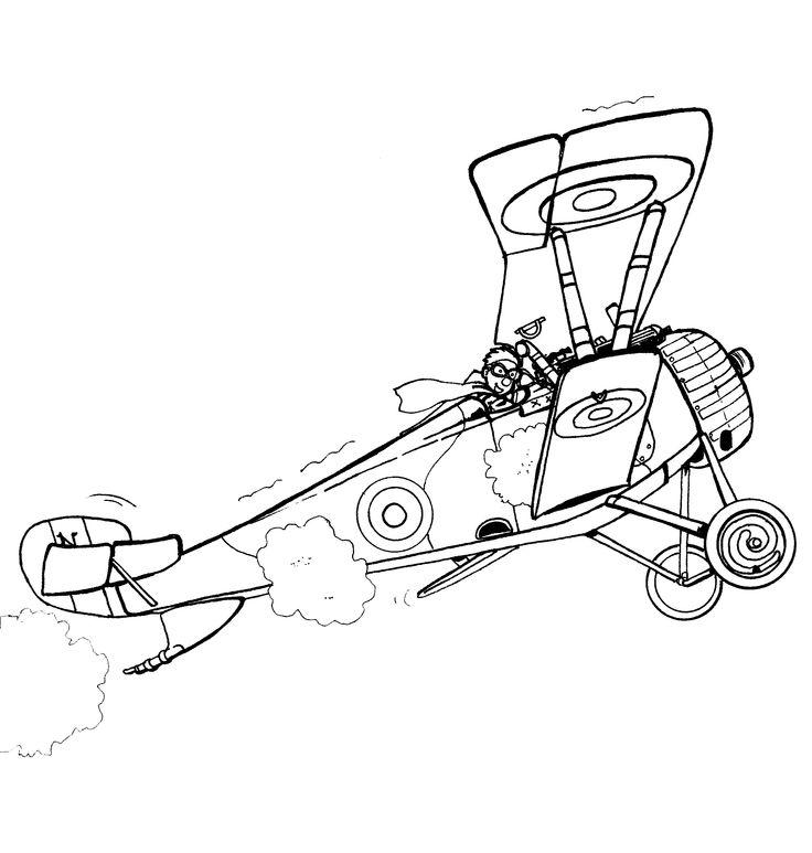 Nieuport 17 - illustration david voileaux copyritht