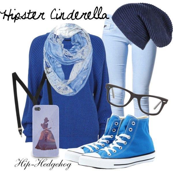 Hipster Cinderella disney outfit ... No suspenders
