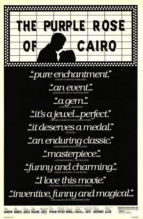 The Purple Rose of Cairo (1985) Woody Allen